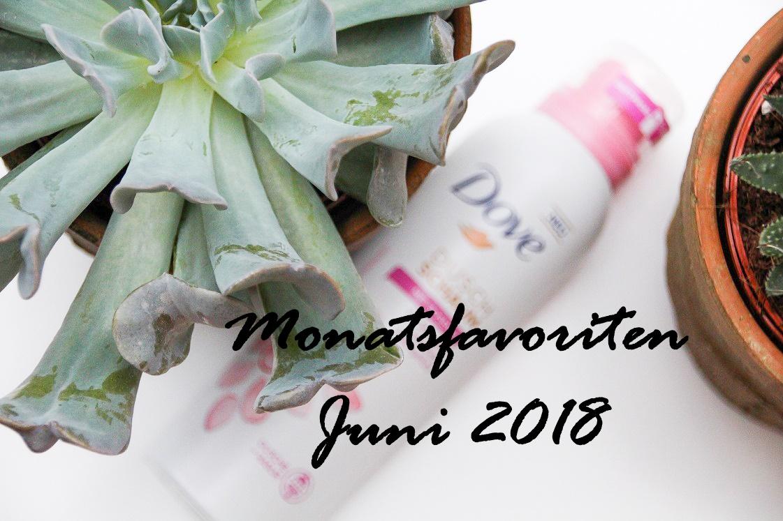 Monatsfavoriten Juni 2018 | Dove Duschschäume & Duschpeelings