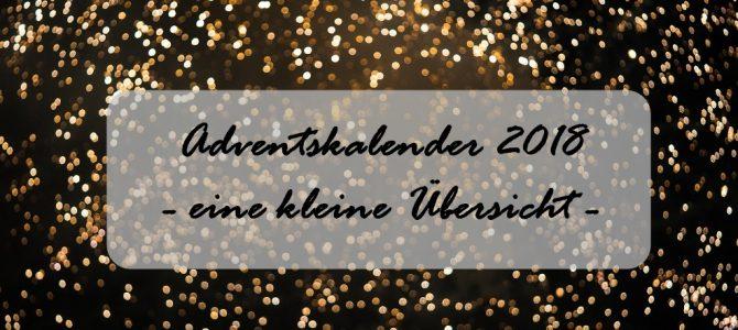 Adventskalender 2018: eine kleine Auswahl mit L'Occitane, NARS, CLARINS & Co.